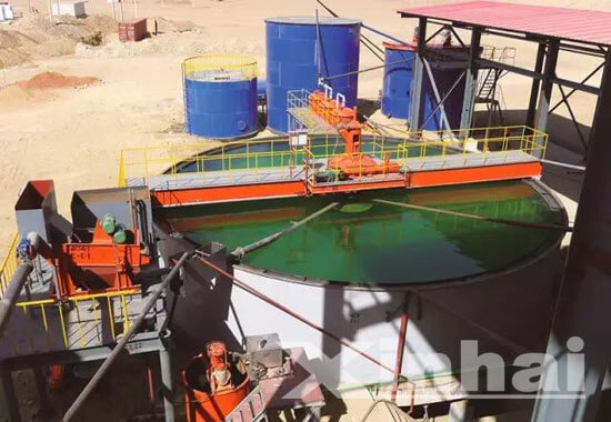 Sudan 1000td gold processing project