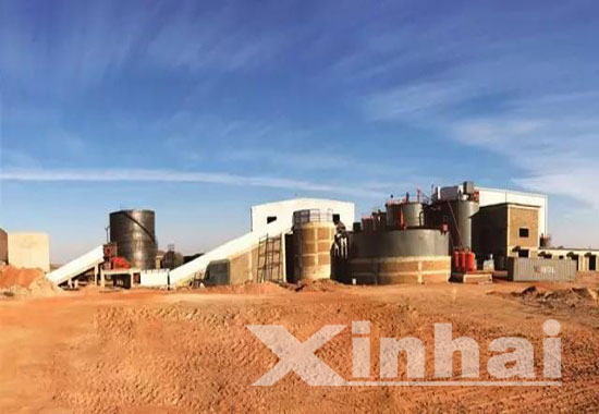 Sudan 700td gold processing project