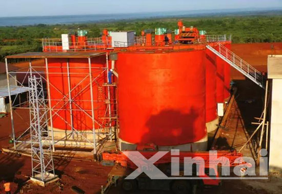 Tanzania 1200 td gold processing project
