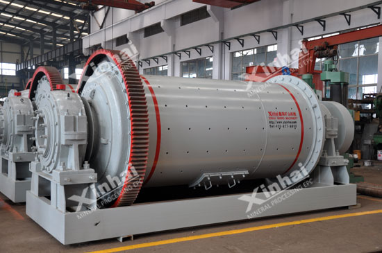 Wet grid type ball mill