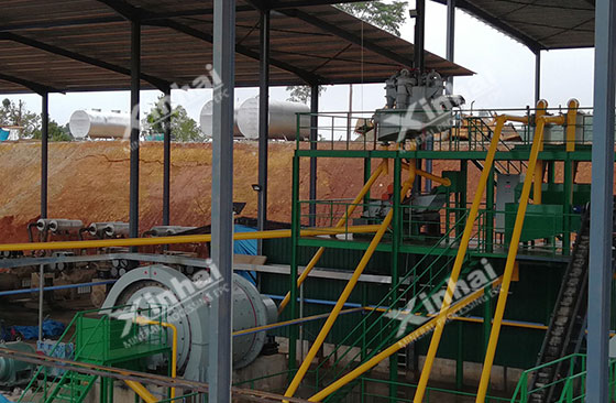 Malaysia-700tpd-gold-mine-processing-project