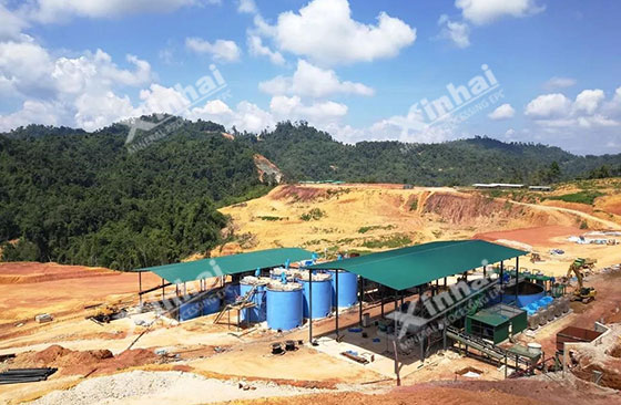 Malaysia-700tpd-gold-ore-processing-project