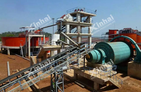 Tanzania-1200tpd-gold-mineral-processing-project