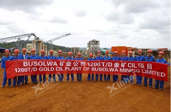 Tanzania 1200tpd gold processing project