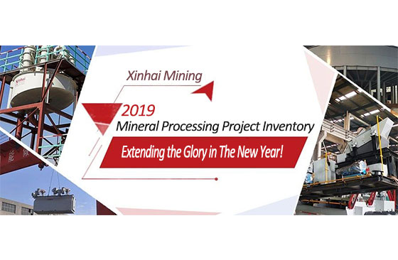 Xinhai Ming | 2019 Mineral Processing Project Inventory, Extending the Glory in The New Year!