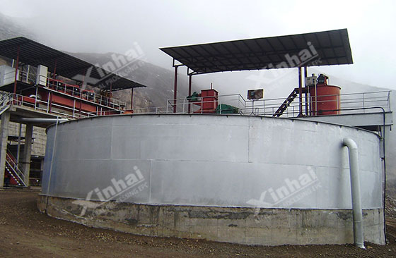 Gansu 1000tpd gold processing plant