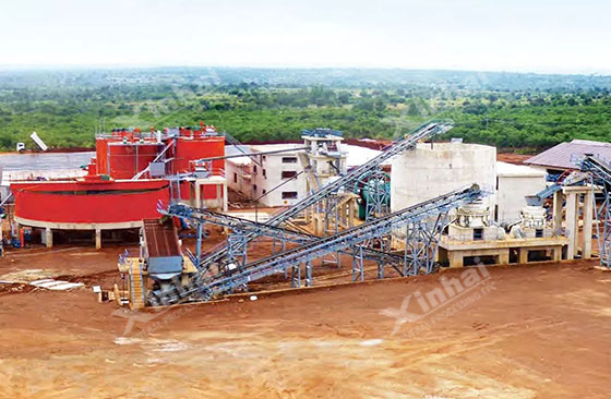 Tanzania 1200tpd gold processing plant