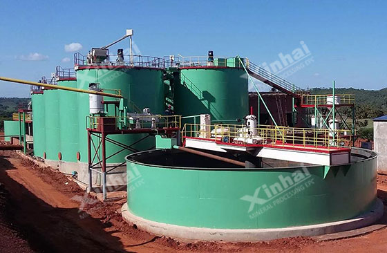 Zimbabwe 700tpd gold processing plant