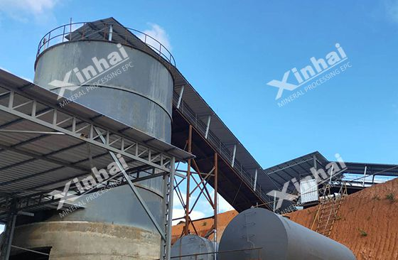 Myanmar 500TPD copper ore processing plant Pic1
