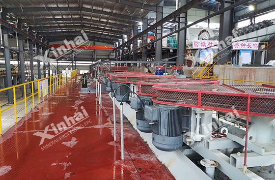 Henan 3000TPD gold ore processing plant Pic1