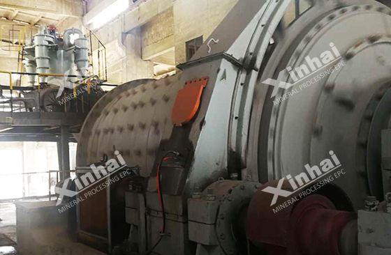 Henan 650TPD gold ore processing plant Pic2