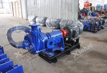 Double Stages Slurry Pump